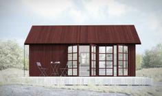 c/o 25 Attefallshus: komplementbostadshus på 25 kvm   Sommarnöjen