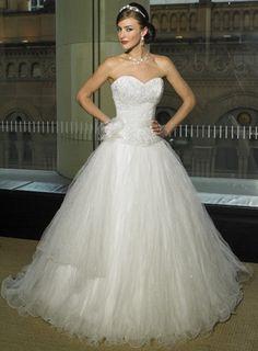 Discount 2012 Customer-made Organza Sweetheart Strapless Wedding Dress (BGWD-056) Online