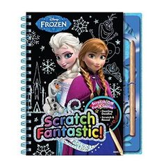 NEW Bendon Frozen Scratch Fantastic Activity Book #BendonInc