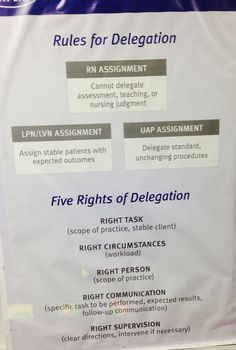 rules for delegation kaplan - Google Search