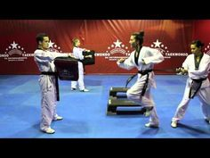 WORLD TAEKWONDO TRAINING PROGRAM- DVD NO.13 - YouTube