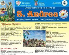 FESTA S.ANDREA E SAGRA DEL PESCE – ASSEMINI – 13-14-15 SETTEMBRE 2013