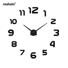 We love it and we know you also love it as well Muhsein  Freeshipping 2017 New Metal Modem  Wall Clock Acrylic Mirror Wall Watch home decoration Clocks Super Big 130cm x130 cm just only $9.06 - 11.46 with free shipping worldwide  #clocks Plese click on picture to see our special price for you