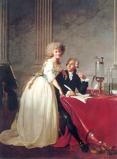"""Marie-Anne Pierrette Paulze aka Madame Lavoisier (1758-1836) Considered """"the mother of modern chemistry,"""" she is most commonly known as the wife of Antoine Lavoisier, but many do not know of her own accomplishments in the field of chemistry."""