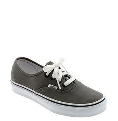 Vans Authentic Sneaker (Women) Pewter, Size 6 | Nordstrom