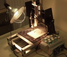MyDIYCNC Desktop CNC Machine at work