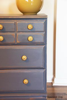 The Speckled Dog: A Painted Dresser