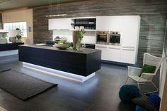 Toe-Kick LED lighting on kitchen island