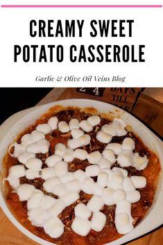 Sweet Potato Casserole, Sweet Potato Recipes, Fancy Meals, Canning Sweet Potatoes, Garlic Olive Oil, Stick Of Butter, Kitchen Hacks, Thanksgiving Recipes