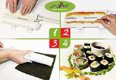 The Sushi Bazooka  All in 1 Sushi Making Machine * Be sure to check out this awesome product. (Note:Amazon affiliate link)
