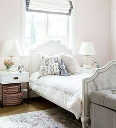 Happy Monday! Hope everyone enjoyed the long weekend. So definitely no #mondayblues in this room. I mean how gorgeous is the girls bedroom by @studiomcgee?! #stunner. As your little girl grows up so should her space. Send us an email and lets talk about a design!