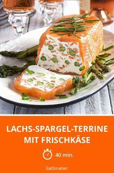 Lachs-Spargel-Terrine mit Frischkäse