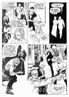 "Vampire Tales #4, April 1974. Marvel Comics Group. ""The Drifting Snow."" Script…"