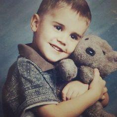Justin Bieber and Bear