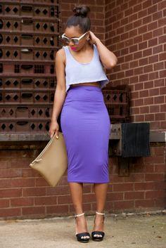 StyleLust Pages: Purple Haze