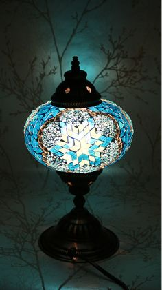 Turkish table lamp w glass mosaic detailed metal base unique turkish table lamp w glass mosaic detailed metal base unique accent a lighting pinterest mosaics metals and glass aloadofball Choice Image