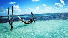 """Despidiendo otro año! Pura vida"" By @fibonacci.soldier  Mahahual Costa Maya - #caribbean #relax #hammock #wood #chillin #mahahual #mexico #rivieramaya #getaway #bucketlist #top #beach #goodvibes #lifeisgood #loveit #turquoisewater #blue #sky #clouds #picoftheday #beauty #loveit #qool"