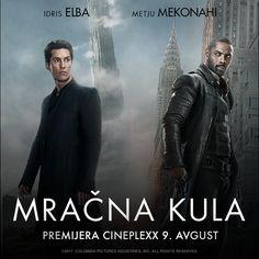 """❎POKLANJAMO❎ 2x2 karte za premijeru filma """"Mračna kula"""" (The Dark Tower), sutra 9. avgusta u 20h u bioskopu Cineplexx Srbija u UŠĆE Shopping Center. Pogledate ovu avanturu  sa Idris Elba u ulozi revolveraša Rolanda i Matthew McConaughey kao Čovek u crnom. 👉Da biste osvojili karte potrebno je da odgovorite u komentarima na pitanje: Po čijoj knjizi je sniman ovaj film?✅ 2 tačna odgovora ćemo nasumično izvući i video izvlačenja sa dobitnicima objaviti sutra (9. avgusta) prepodne. Srećno🍀🍀🍀…"""
