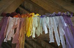 dying silk ribbon