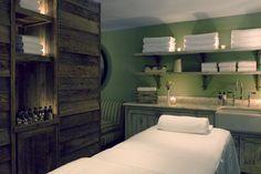 Treatment Room by Martin Brudnizki Design Studio   Cowshed Spa, Miami