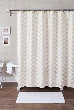 Beautiful 3 Piece Shower Curtain Set