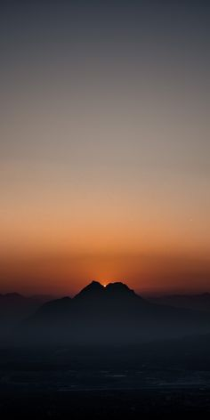 Iphone Wallpaper, Ios, Android, Wallpapers, Celestial, Mountains, Sunset, Nature, Travel