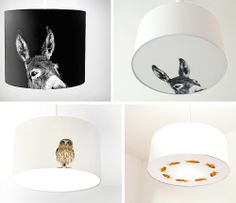 @Rachel Hinz, let's get a lampshade and put a woodland creature on it for Judah's room.