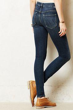 #motherdenim #anthrofave #denim ankle jean high waist #spring #fashion