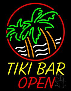 1000 images about Tiki Bar Open Neon Signs on Pinterest #0: 5579ea86e a473acab fd84