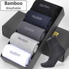 Cheap bamboo socks, Buy Quality mens bamboo socks directly from China mens long socks Suppliers: 2018 Men Bamboo Socks Breathable Deodorant Comfortable Anti-Bacterial Casual Business Man Long Socks / lot) Deodorant, Bamboo Socks, Buy Bamboo, Dress Socks, New Man, Business Casual, Brand Names, Branding, Mens Fashion
