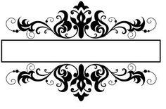 Resultado de imagem para etiqueta para selar o convite casamento de casamento Motif Oriental, Diy And Crafts, Paper Crafts, Decorative Lines, Wedding Ornament, Borders And Frames, Border Design, Arabesque, Design Elements