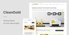 This Deals CleanGold - A Minimal Responsive WordPress Themelowest price for you. In addition you can compare price with another store and read helpful reviews. Buy