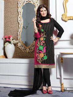 Cotton Indian Salwar Kameez Unstitch 100% Cotton Churidar Shalwar Kameez Suit 17 #OdInParis #Casual