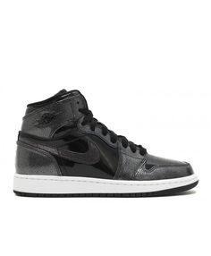 70c47a449f8312 Air Jordan 1 Retro High Bg Black Black White 705300 017