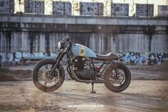 Suzuki GS450 Cafe Racer by Wrench Kings 1