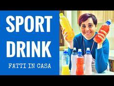 INTEGRATORE SPORT DRINK TIPO GATORADE POWERADE FAI DA TE - DIY Gatorade | Fatto in casa da Benedetta