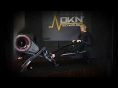 DKN® Air Rower R‑320 Gym Equipment, Workout Equipment