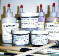 fused glass paints