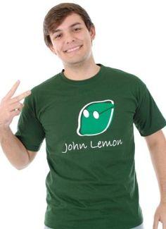 Camisetas SÁTIRAS | Camiseta JOHN LEMON