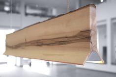"""""""Y"""" - Sverre Uhnger - selected works. wood light fixture. pendant. modern light fixture.modern design"""