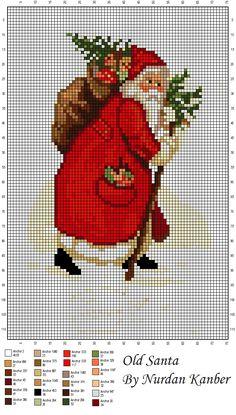 Olde Santa By Nurdan Kanber