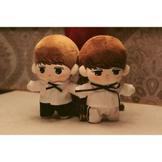 Exo Doll KaiHun Brothers' Doll, K-Wave on Carousell
