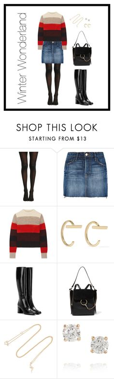 """Winter Wonderland"" by theredpoppy ❤ liked on Polyvore featuring Hot Topic, Frame, rag & bone, Melissa Joy Manning, Yves Saint Laurent, Chloé, I+I and Anita Ko"