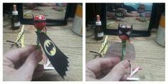 Chupetines de super héroes