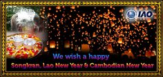 International Accreditation Organization wishes a happy Songkran, Lao New Year and Combodian New Year