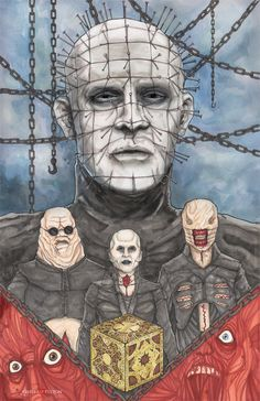 Hellraiser Pinhead Cenobites by ChrisOzFulton on DeviantArt