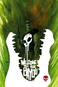 Punisher  http://devilpig.deviantart.com/art/Punisher-cover-no-72-117745175