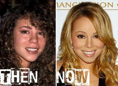 Celebrity Mariah Carey #PlasticSurgery Before After