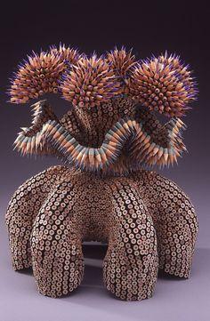 Jennifer Maestre Creative Colored Pencil Art  Sculpture
