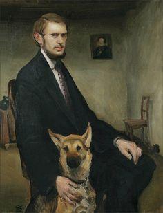 Miroslav Kraljević · Autoritratto · 1910 · Moderna Galerija · Zagreb